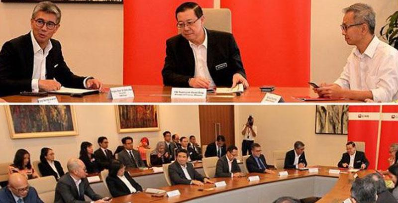 CIMB adakan mesyuarat pertama dengan Menteri Kewangan