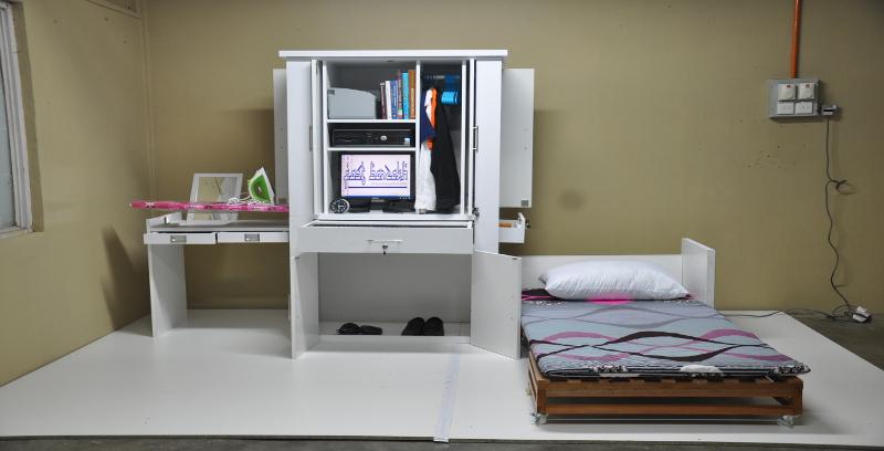 Perabot kompak untuk ruang terhad