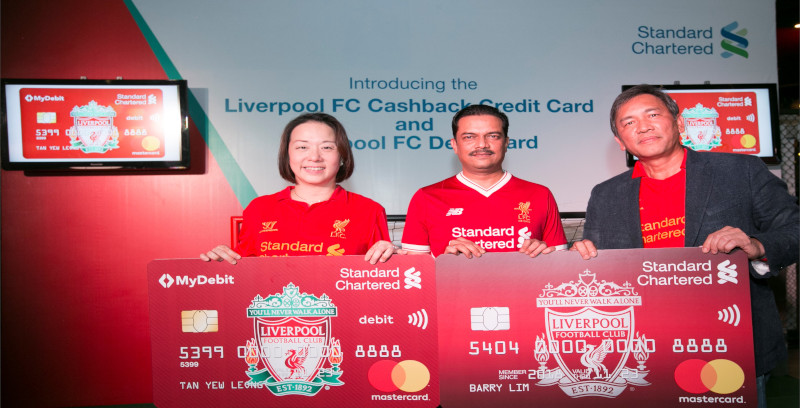 Kad Kredit Liverpool FC Cashback tawar lebih ganjaran