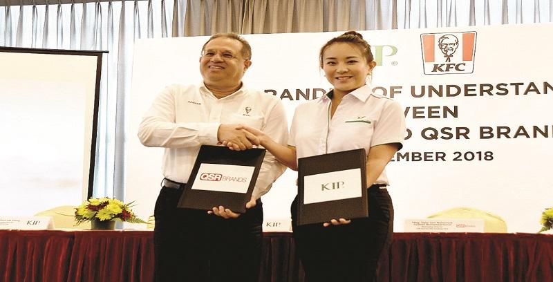 KIP Group, QSR Brands meterai MoU buka restoran pandu lalu KFC