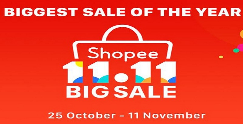 Tawaran Terhebat Shopee 11.11 Big Sale!