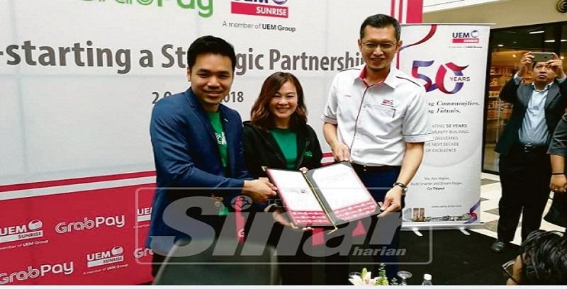 UEM Sunrise Berhad, Grab Malaysia umum perkongsian strategik