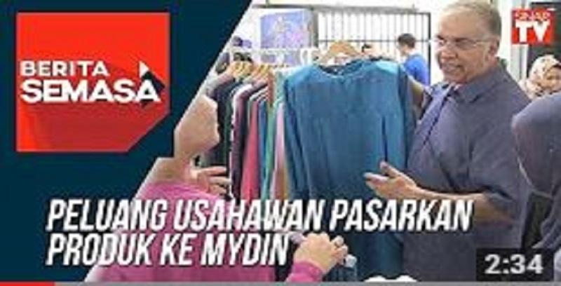 Peluang usahawan pasarkan produk ke Mydin