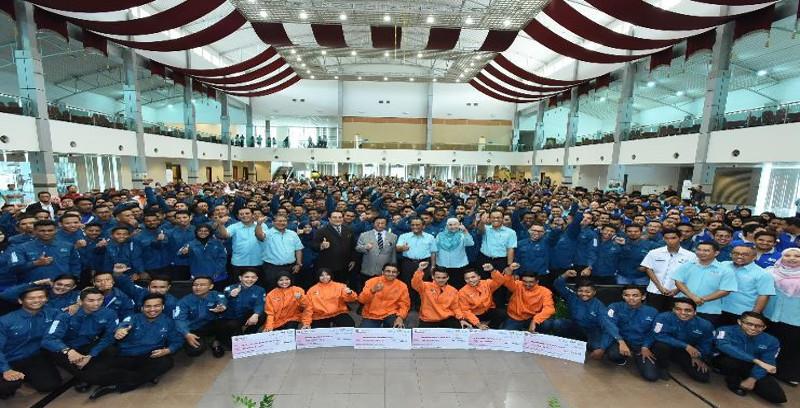 RM700 juta untuk perkasa belia, pekerja binaan