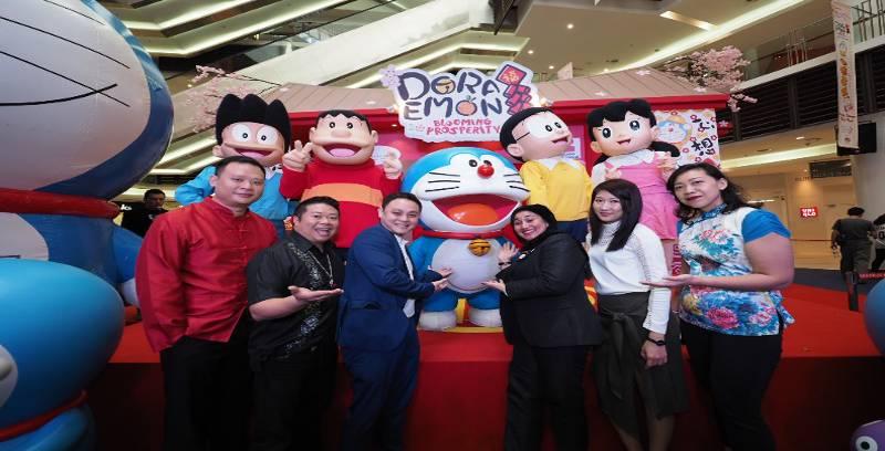 Peluang menarik bertemu Doraemon!