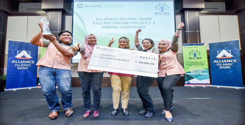 Unimas menang Projek Alliance Bank Eco-Biz Dream 3