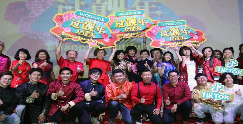Watsons meraikan kecantikan sempena sambutan Tahun Baharu Cina