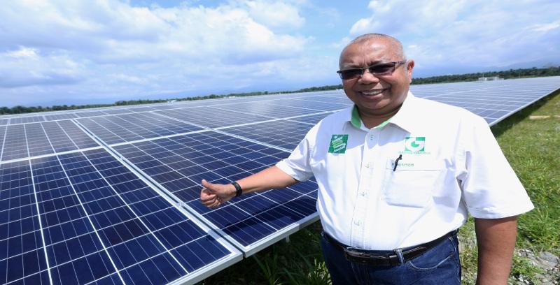 Nama Guntor popular dalam industri solar