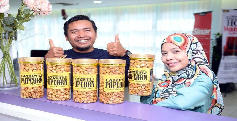 Lazzetli Popcorn giat luaskan pasaran menerusi ejen, stokis