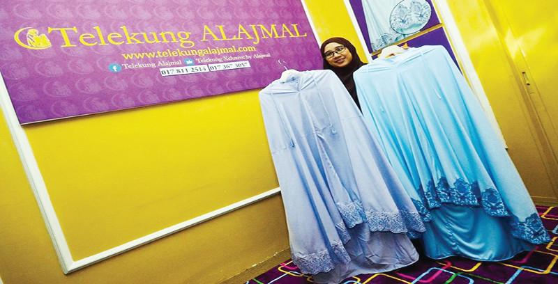 Telekung Alajmal adakan promosi agresif, hasil rekaan baharu