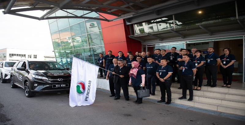 Perodua sasar Aruz jadi SUV terlaris di Malaysia Timur