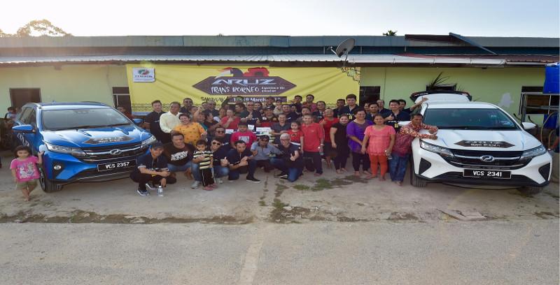 20 keluarga Rumah Clement Bayang terima sumbangan Perodua