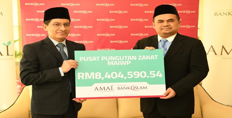 Bank Islam serah zakat perniagaan RM8.4 juta