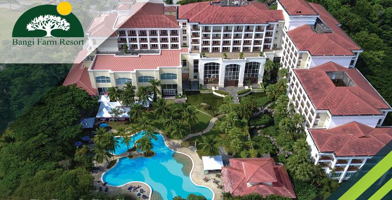 Kebun dalam hotel terkemuka