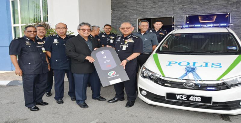IPK Selangor terima 3 unit Bezza
