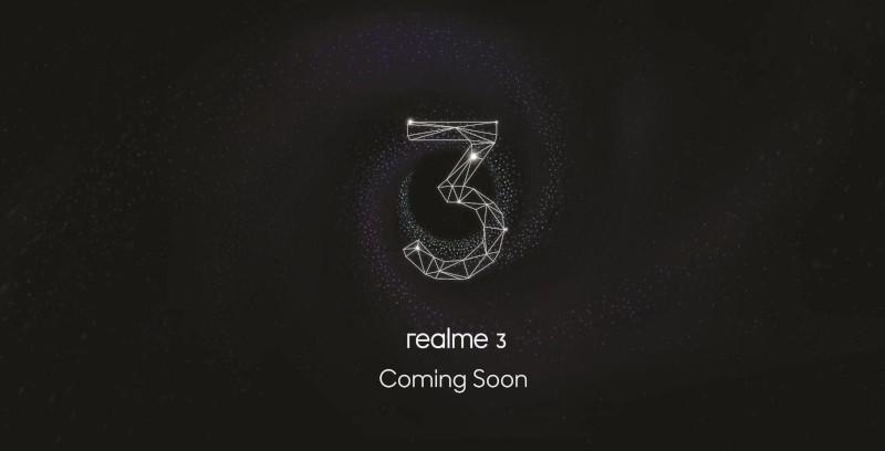 Pelancaran Realme 3, 21 Mac ini