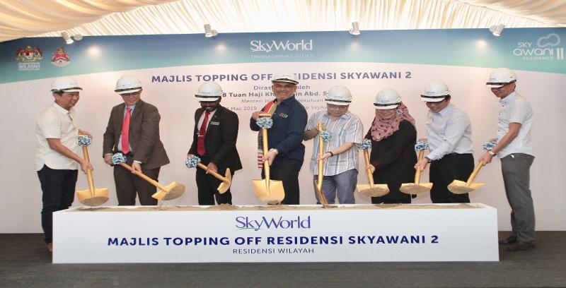 SkyWorld jangka lancar residensi SkyAwani