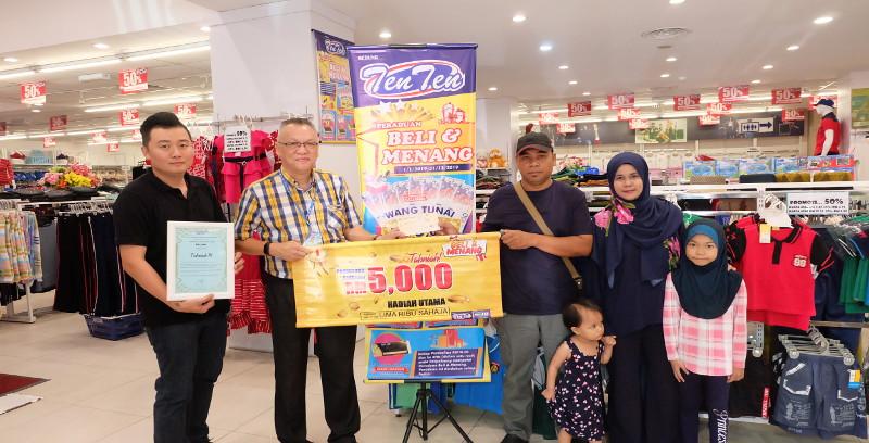 Menang RM5,000 setiap bulan!