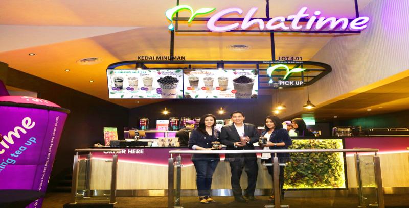 Chatime dalam TGV Cinemas