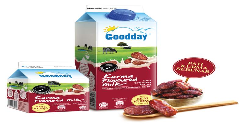 Goodday Milk Malaysia perkenal Susu Kurma Pasteur