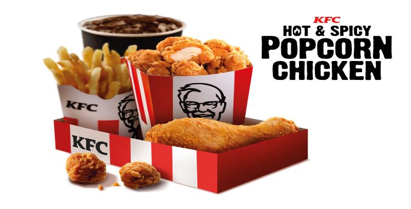 Popcorn Chicken KFC kembali lagi