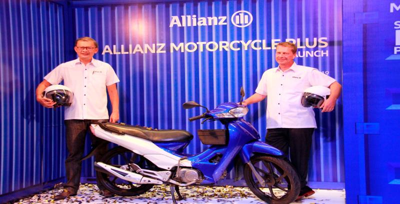 Allianz perkenal Motorcycle Plus