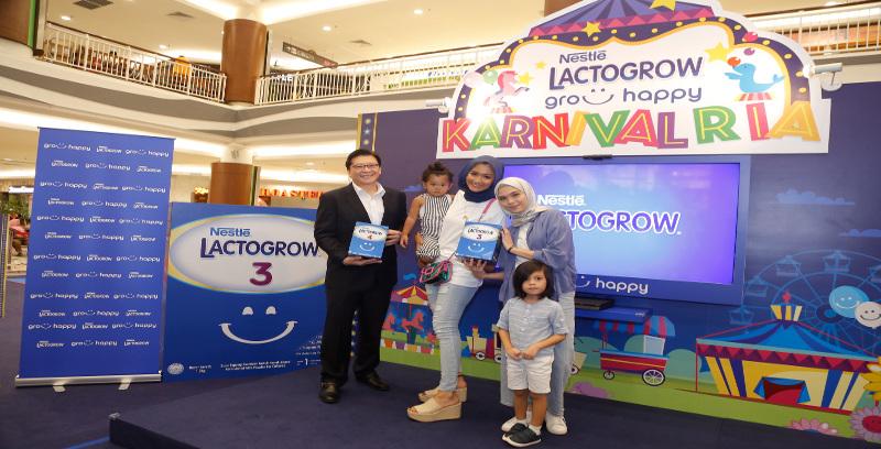 Nestle Lactogrow anjur Karnival Ria Grow Happy