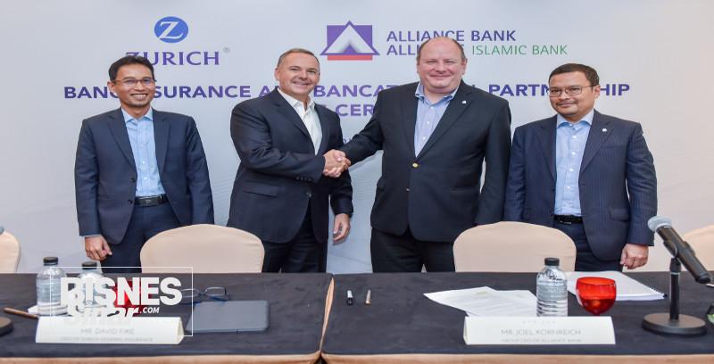 Alliance Bank dan Zurich Malaysia meterai perjanjian