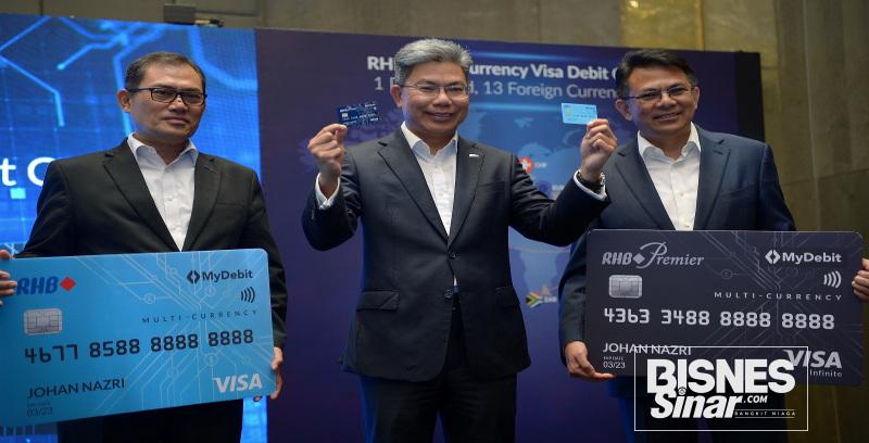 RHB lancar kad debit Visa Pelbagai Mata Wang