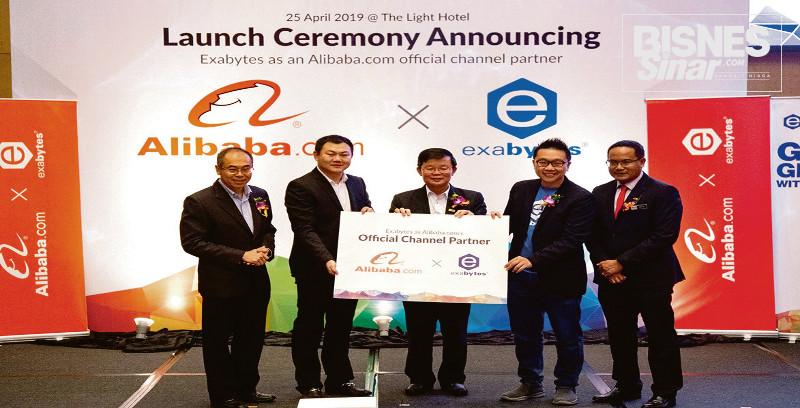 Kerjasama Alibaba.com dan Exabytes bantu PKS
