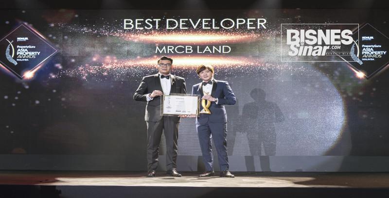 MRCB Land dinobatkan Pemaju Terbaik
