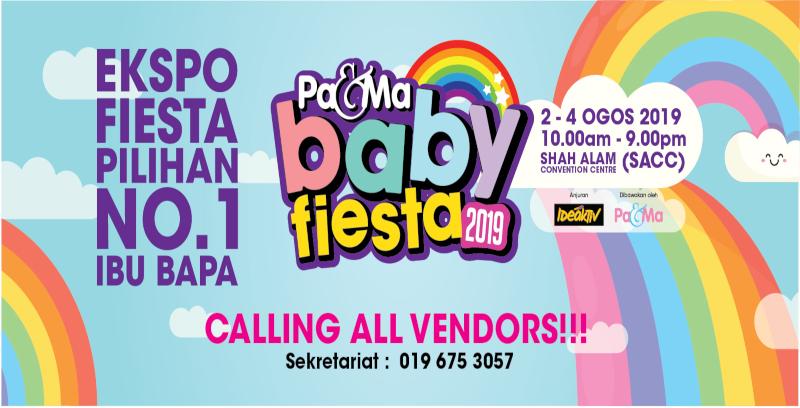 Pa&Ma tawar ruang niaga di Pa&Ma Baby Fiesta 2019