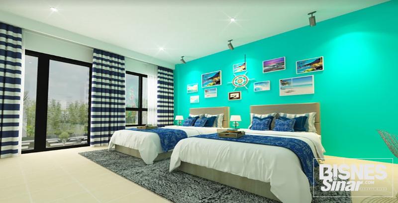 Avillion tawar hotel konsep moden kontemporari di Pulau Pangkor