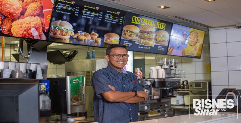 McDonald's catat pertumbuhan 19 peratus