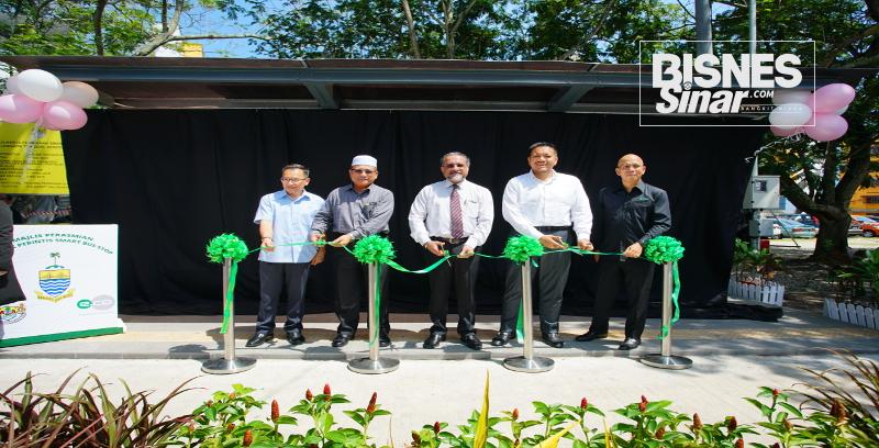 edotco lancar Bus Pintar Shelter di Pulau Pinang