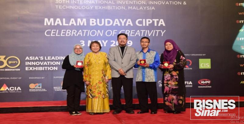 UPM rangkul tiga emas inovasi