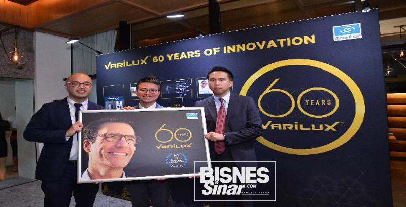 Varilux rai 60 Tahun Lensa Progresif Inovatif