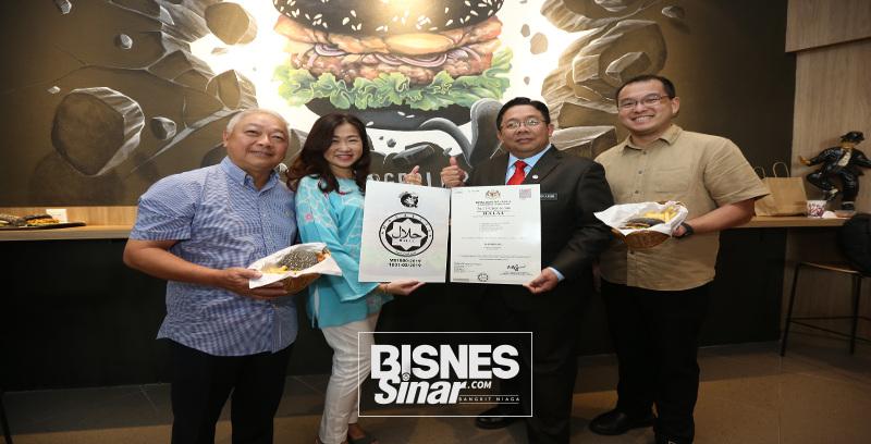 Burgerlari dapat sijil halal