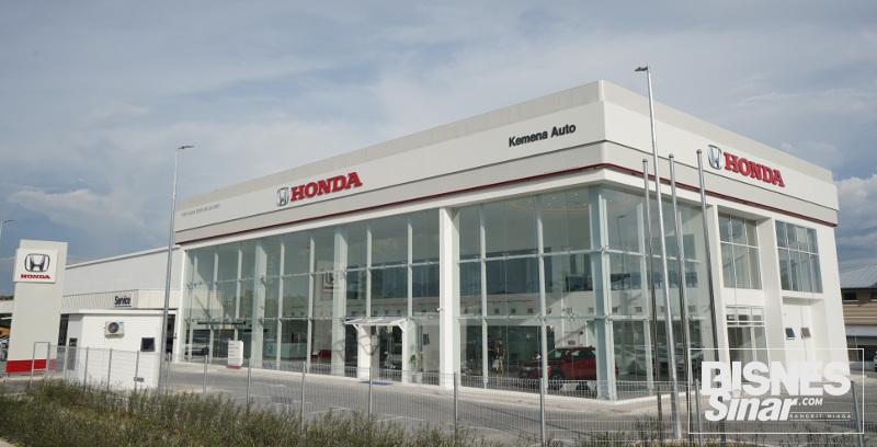 Honda Malaysia lancar pusat 3S di Bintulu
