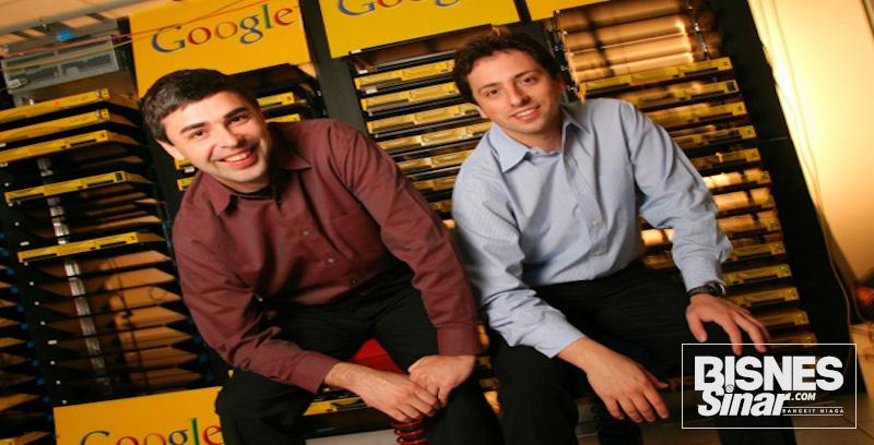 Pengasas Google cipta fenomena dunia