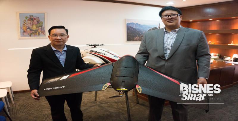 SWS ceburi bidang teknologi dron, AI tingkat prestasi pertanian.