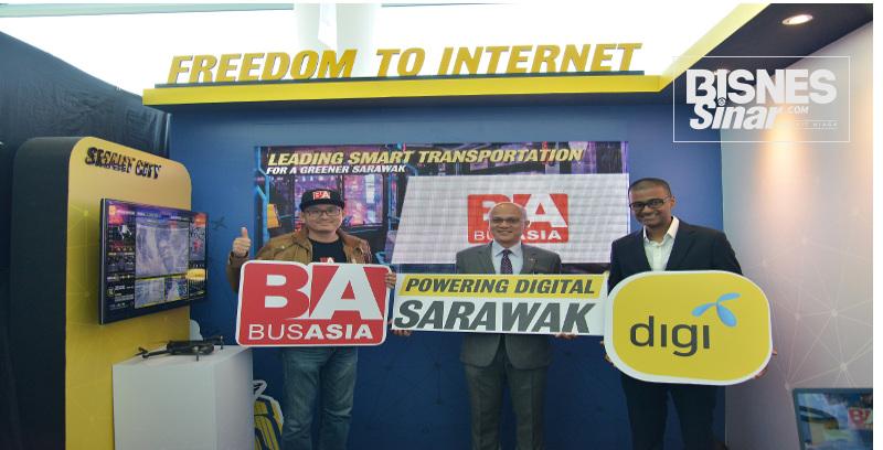 Digi, Bus Asia jalin kolaborasi