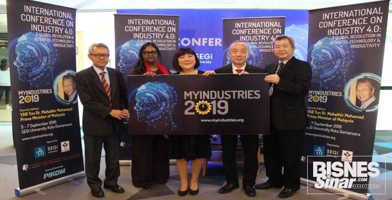 Universiti SEGi  anjur persidangan antarabangsa, MyIndustries 2019