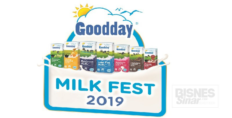 Goodday anjur Milk Fest 2019