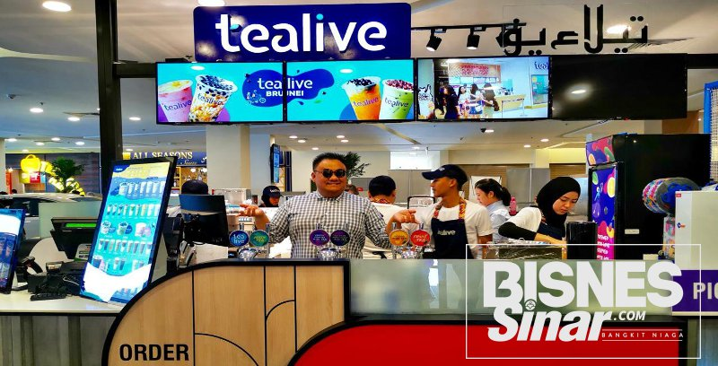 Tealive tembusi Brunei, bakal buka 3 kedai menjelang akhir tahun 2019