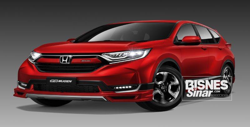 Honda Malaysia lancar edisi terhad CR-V Mugen