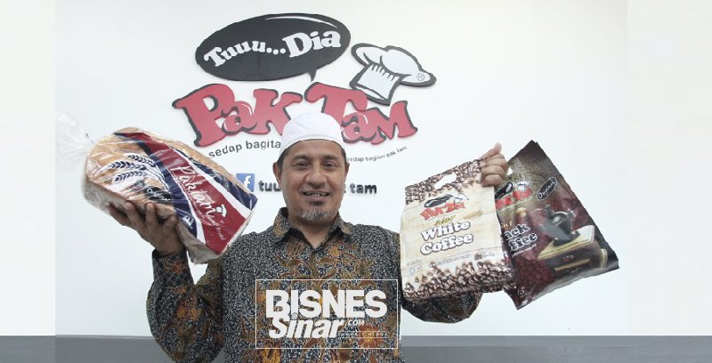 Bermodalkan RM25 Ruslin bina jenama 'Tuu… Dia Pak Tam'