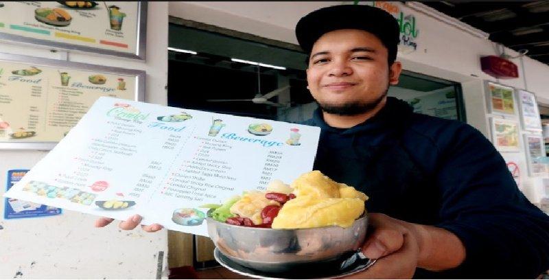 Penangan Cendol Durian Musang King