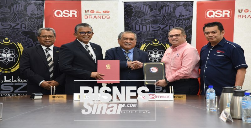 UniSZA meterai perjanjian bersama QSR Brands, penuhi keperluan industri