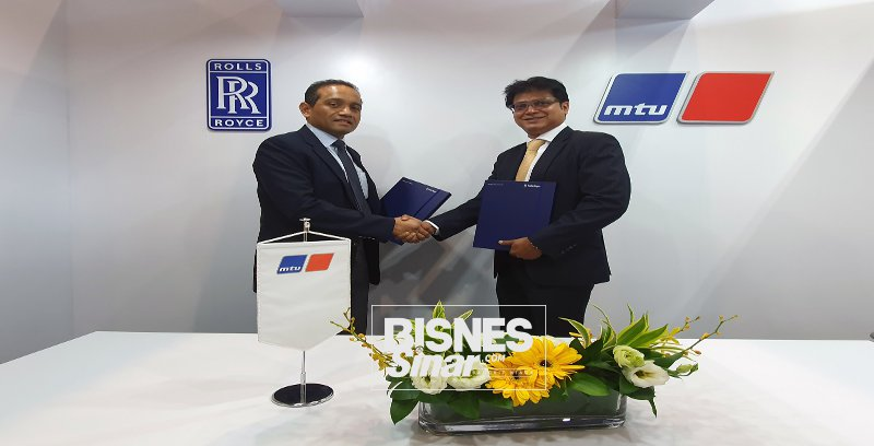 Rolls Royce, Sapura Resources jalin kolaboratif bangunkan MTU Power System